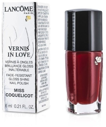 Lancome Vernis In Love Nail Polish N154M Miss Coquelicot 6ml