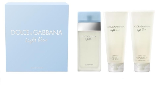 Dolce&Gabbana Light Blue Set 3x300ml