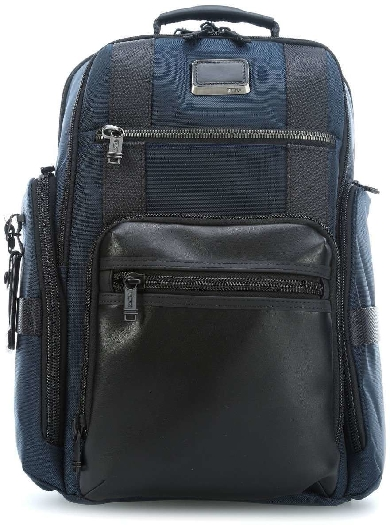 Tumi ALPHA BRAVO Men`s Backpack, Blue 0232389NVY