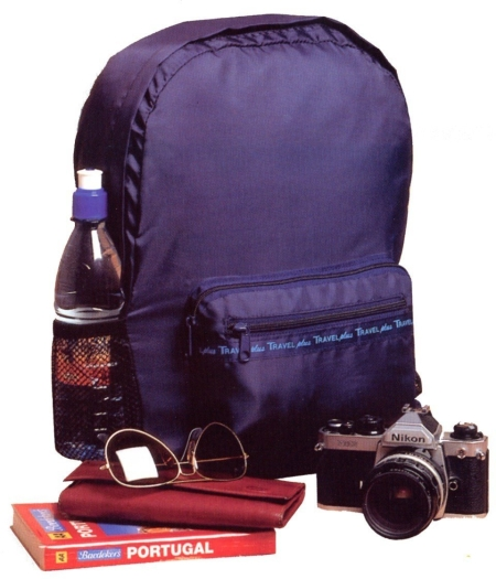 Travel Blue Backpack