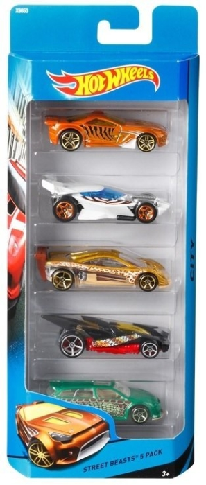 Hot Wheels 5-car Set