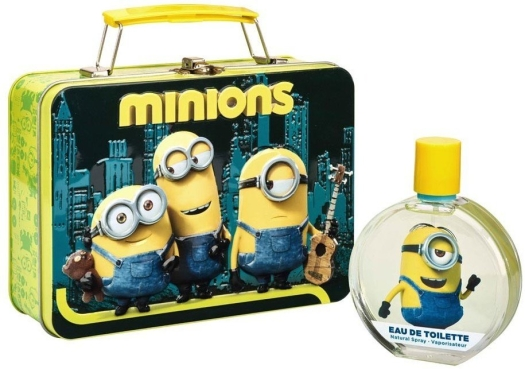 Disney's World Minions Metallic Bag Eau de Toilette