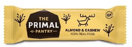 TPP The Primal Pantry Almond&Cashew Raw Bar 45G