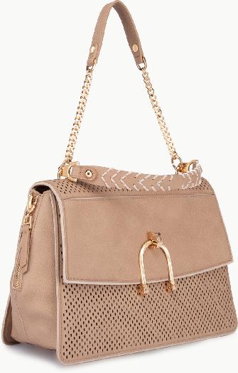 Liu Jo Openwork beige handbag