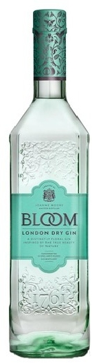 Bloom London Dry Gin 40% 1L