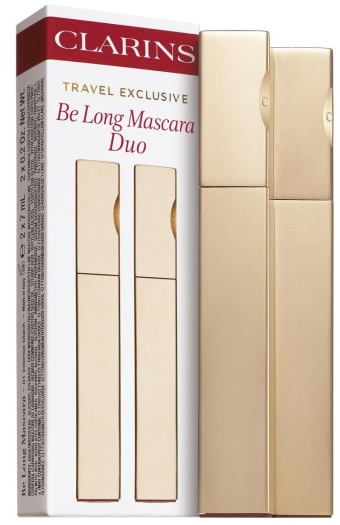 Clarins Be Long Mascara Duo Set 2x7ml