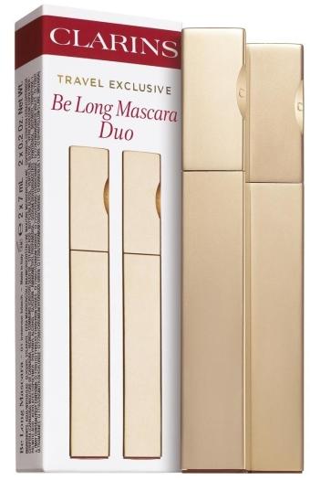 Clarins Be Long Mascara Duo Set 2x7ml