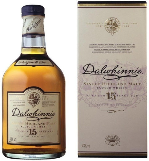 Dalwhinnie 15 YO Whiskey 1L