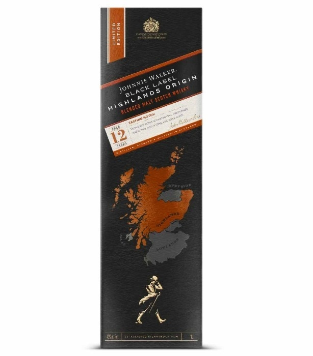 Johnnie Walker Black Label Highlands Origin