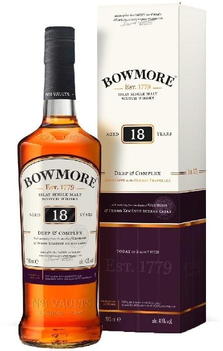 Bowmore 18yo 43% 0.7L 0.7L