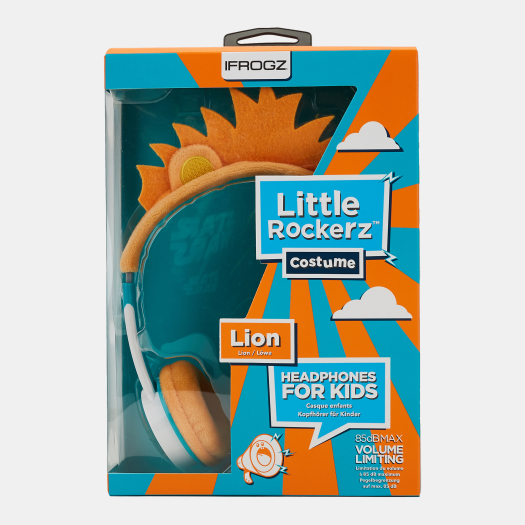 iFrogz CasqueKid Little Rockers Lion