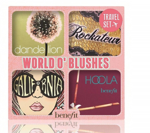 Benefit World O'Blushes Travel Set 3.5g+2x2.5g+4g