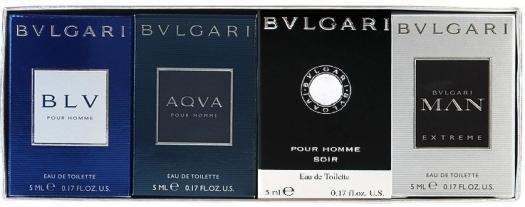 Bvlgari Miniatures Set pour Homme EdT 4x5ml