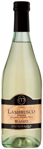 Menestrello Lambrusco White 8% 0.75L