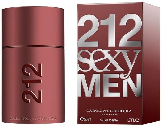 Carolina Herrera 212 Sexy Men EdT 60ml