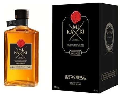 Kamiki Intense, Dark Wood Extra Aged 0.5L
