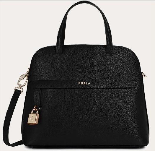 Furla Piper Handbag, Black BAHUFPIARE000O600010