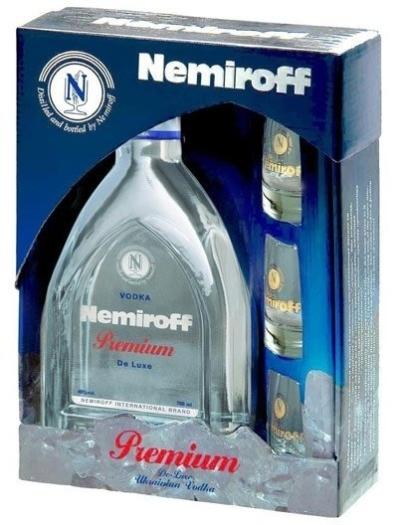 Nemiroff Premium Gift Set 0.7L