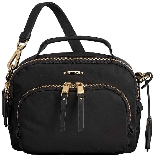 Tumi Voyageur Troy Crossbody Women`s Bag, Black 0196308D