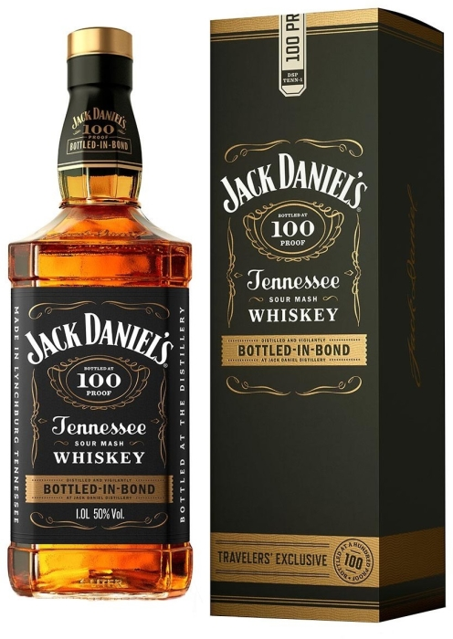 Jack Daniel's Bottled In Bond Gift Pack 1L