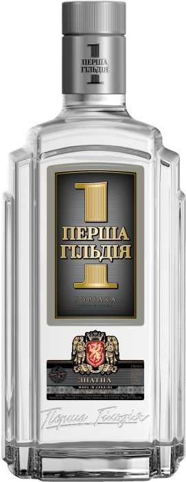 Premium Ukrainian vodka First Guild Znatna 0.7L