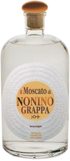 Nonino Grappa Moscato 41% 0.7L