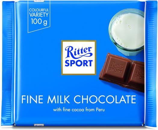Ritter Sport Extra Fine Milk Chocolate