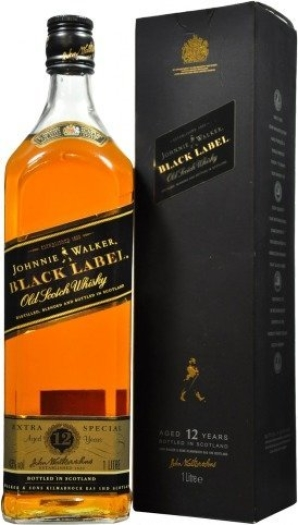 Johnnie Walker Black Label 12 years 1L