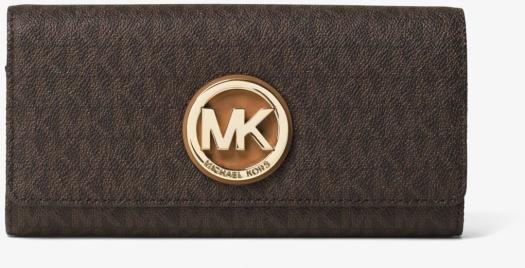 Michael Kors Fulton Logo Carryall Wallet