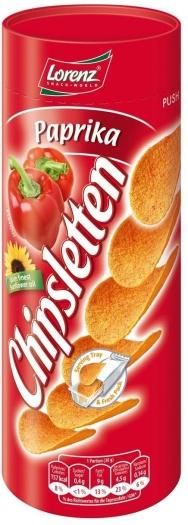Lorenz Chipsletten Paprika 100g