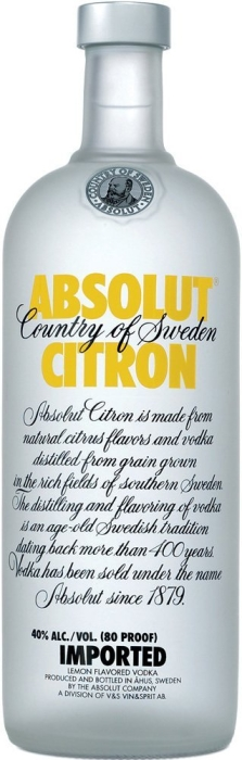 Absolut Citron 1L