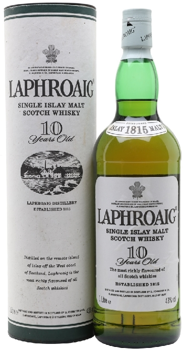 Laphroaig 10 Years Old 40% 1L