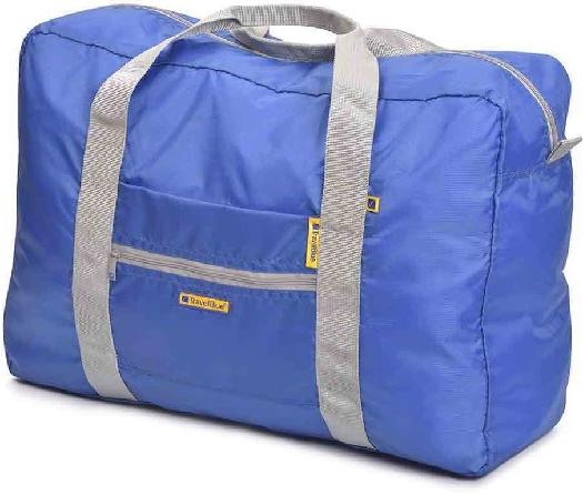 Travel Blue Folding Shopping Bag - 30 Litre TB-066 Blue+Black+Purple