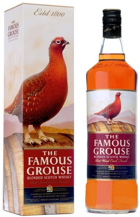The Famous Grouse Port Wood Finish Whiskey 40% 1L