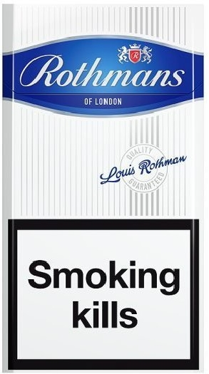 Rothmans Blue Pack