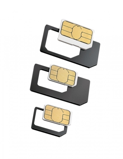 Cellular Line Utility Sim Adapter 3 In 1