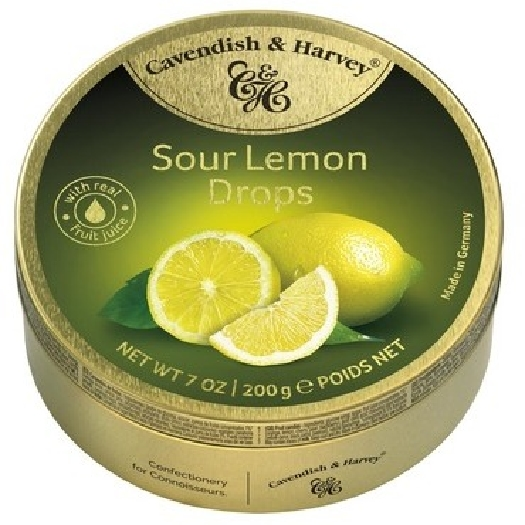 Cavendish&Harvey Sour Lemon Drops 200g