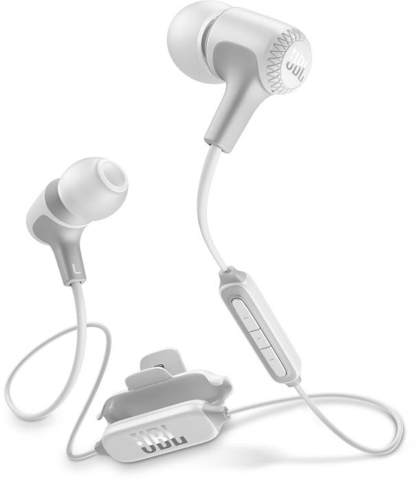 JBL E25BT In-Ear Bluetooth Headphones White 16.5g