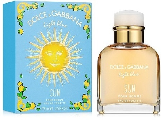 Dolce&Gabbana Light Blue Sun Pour Homme 75ml