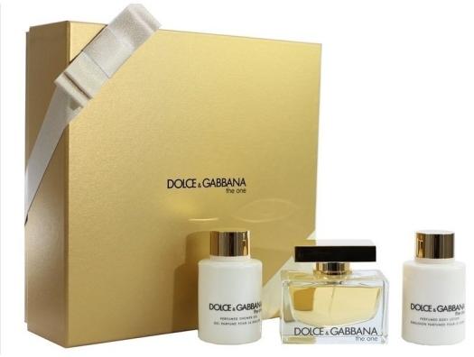 Dolce&Gabbana The One for Women Set EdP 75ml + 2x100ml