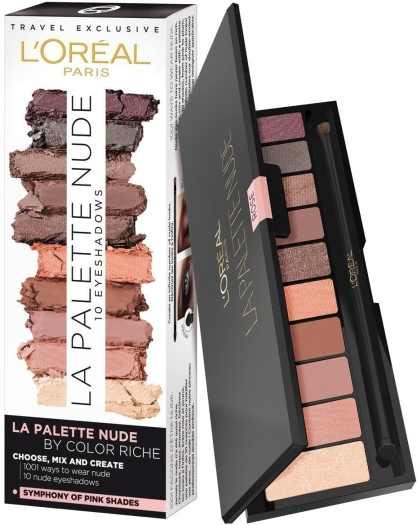 L'Oreal Color Riche La Palette Nude Rose 7g