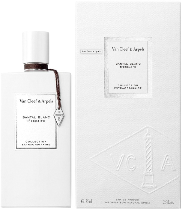Van Cleef&Arpels Collection Extraordinaire Santal Blanc Eau de Parfum 75ML