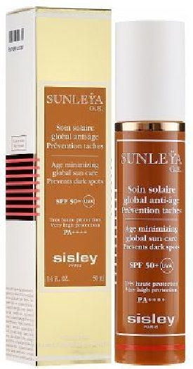 Sisley Sunleya 168345 SPF Age Minimizing Global Sun Care SPF50+ 50ML