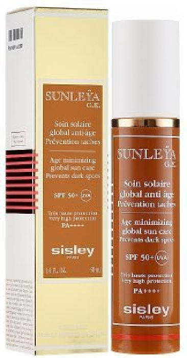 Sisley Sunleya 168345 SPF Age Minimizing Global Sun Care SPF50+ 50ML