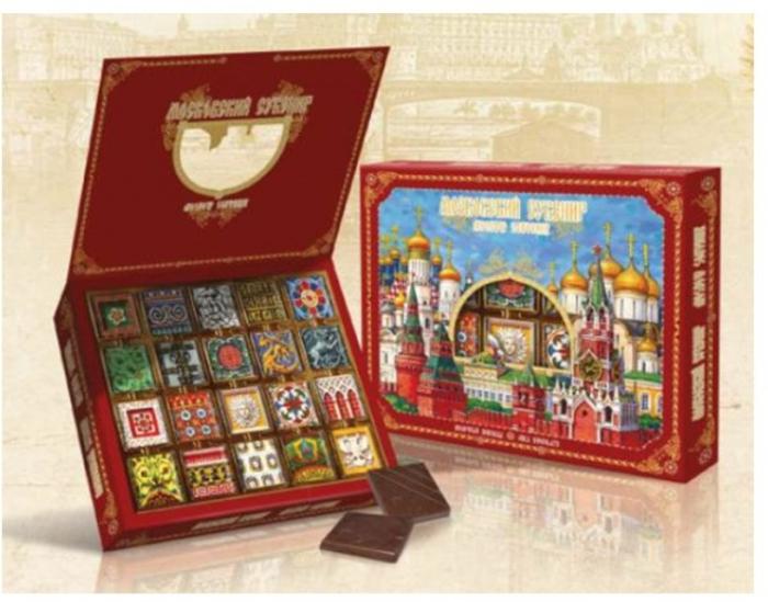 Imperial Chocolate Set Kremlin Souvenir 100G