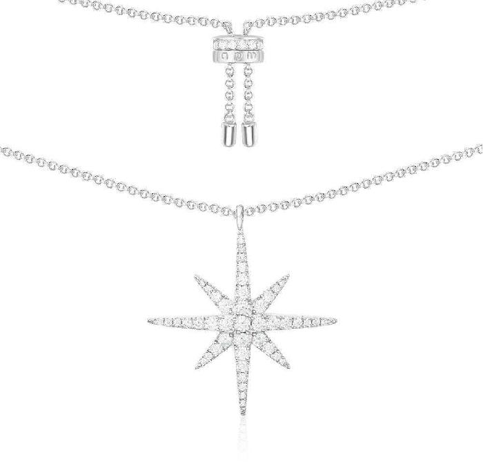 APM Monaco Météorites Unique Necklace - Silver