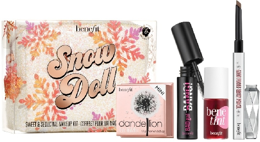 Benefit Snow Doll Sweet&Seductive Makeup Set 4g+1.5g+0.34g