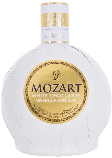 Mozart White Chocolate Liqueur 1L