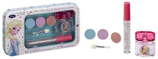 Disney's World Frozen Metallic Cosmetic Set