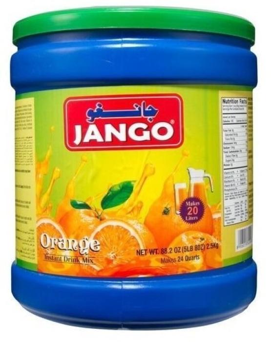 Jango Orange Instant Drink Powder 2.5kg